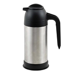 CREAM SERVER BLACK STAINLESS STEEL 33 OZ