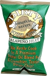 DIRTY CHIPS JALAPENO HEAT POTATO CHIPS 25/2OZ