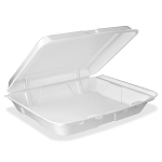 STYROFOAM TO GO CONTAINER 9x9 SINGLE COMPARTMENT 200/cs
