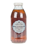 HARNEY ICED TEA ORGANIC UNSWEETENED BLACK TEA 16OZ 12/CS