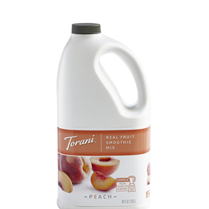 TORANI REAL FRUIT SMOOTHIE PEACH